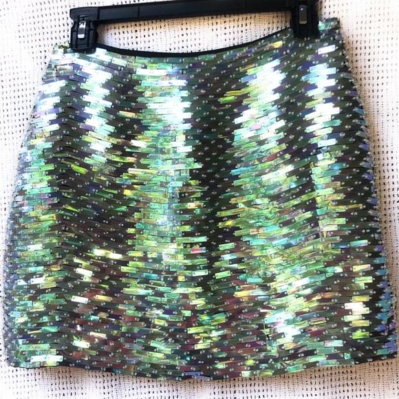 Hugo Buscati Dresses & Skirts - Hugo Buscati Collection Beaded Skirt